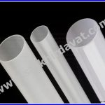 Pleksiglass Satine Boru Buz Beyazı